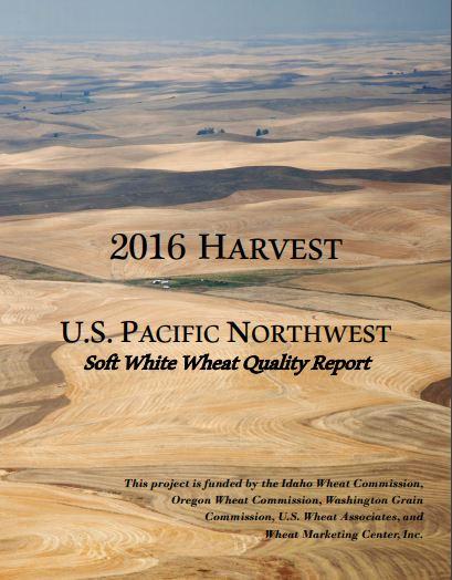 2016 Soft White Wheat Report