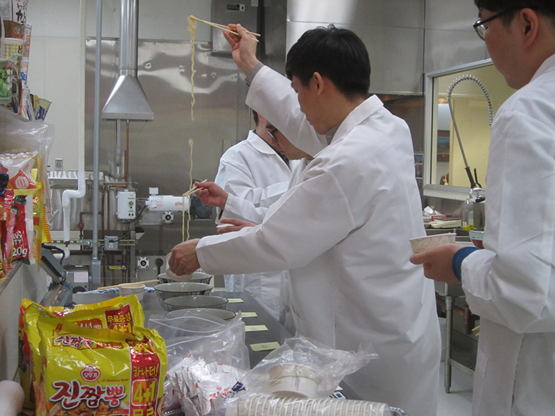 Korean Whole Wheat Noodle Development Course Mar 2017