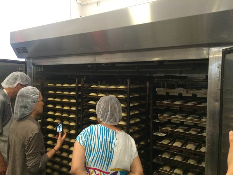 Taiwan bakers visiting Grand Central Bakery
