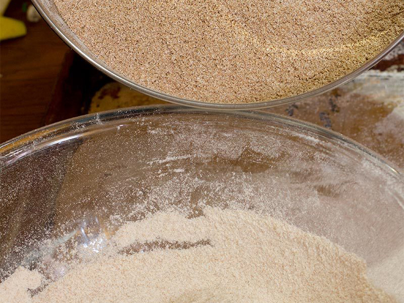 Whole Wheat Particle Size