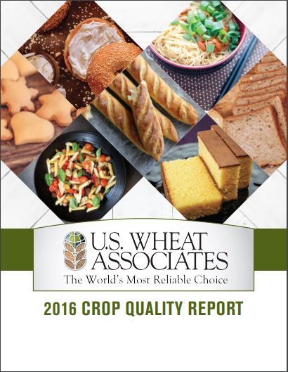 2016 Crop Quality Report