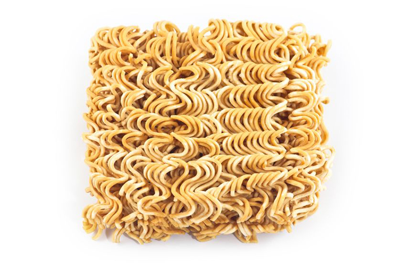 Uncooked Asian Noodles